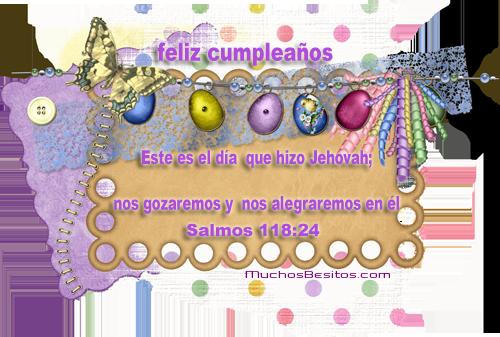 Feliz Cumpleanos @ MuchosBesitos.com